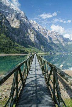 Lac Klontalersee, Suisse