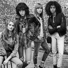 Topshop - Topshop's just-launched denim line features nine styles, eachinspired by a different supermodel. There is something for everyone, whether you're searching formom jeans or high-waisted skinnies or boyfriends. Pair with a crisp white button-up and you're good to go!