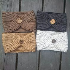 Knot Knitted Headband by Cassie Smith