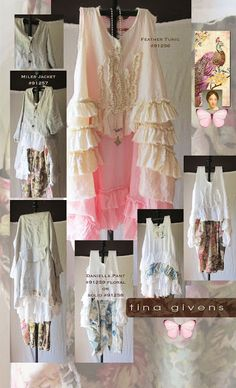 tina givens couture I'll take one of each please:0)