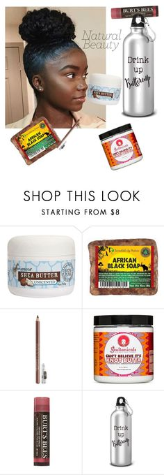"""""""101 be positive"""" by aquariuscelsius ❤ liked on Polyvore featuring beauty, Out of Africa, Iman and Burt's Bees"""