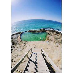 thousand steps beach, Laguna Beach, CA✨