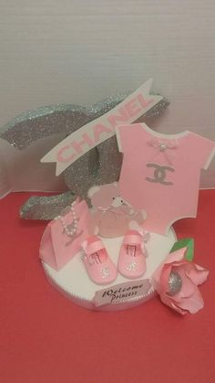 Your place to buy and sell all things handmade Girl Baby Shower Decorations, Baby Shower Centerpieces, Chanel Baby Shower, Chanel Party, To My Daughter, Daughters, Baby Shower Cakes, Baby Boy, Hobby