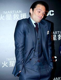 & again we are graced with one of many of Sebastian's hilariously adorable faces.