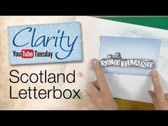 This week Barbara introduces us to the Claritystamp Letterbox Kit. It's an alphabet stamp set with a difference. Card Making Tutorials, Craft Tutorials, Making Cards, Video Tutorials, Clarity Card, Barbara Gray Blog, Alphabet Stamps, Art Journal Techniques, Creative Video