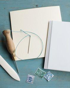 http://www.marthastewart.com/968910/simple-hand-sewn-journals               sewn recipe book