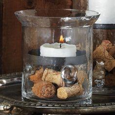 Small Julia Candle Hurricane