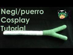 Tutorial negi/puerro Hatsune Miku Cosplay de peluche