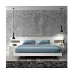 Cool Floating Bed Design Ideas 3 image is part of 40 Cool Contemporary Floating Bed Design Ideas gallery, you can read and see another amazing image 40 Cool Contemporary Floating Bed Design Ideas on website Modern Bedroom Furniture, Home Decor Bedroom, Furniture Design, Bedroom Ideas, Bedroom Designs, Master Bedroom, White Bedroom, Kids Bedroom, Edgy Bedroom