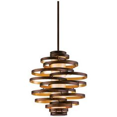 Corbett Vertigo Medium Pendant Light