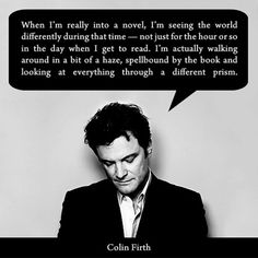 Colin Firth: 5 of Our Favorite Celebrity Book Nerds #BNReads