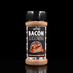 Deliciou's Bacon Seasoning makes ANYTHING taste like bacon! Enjoy on anything, including hot chips, popcorn, roasted vegetables, green beans and anything else.