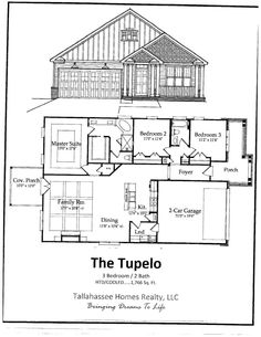 Tallahassee model homes