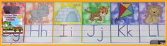 These classroom alphabet posters or letter cards coordinate with our jungle numbers freebie and are perfect for your alphabet display! Students use these letters daily for alphabet order, letter sounds, letter formation, and spelling familiar words they have seen with each letter. They are colorful and engaging for our little learners!