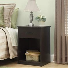 Bowdoin 1 Drawer Nightstand #Product#separately#Details