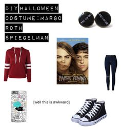 """DIY Halloween Costume: Female Margo Roth Spiegelman (From Paper Towns)"" by randomfandom2022 on Polyvore featuring Forum, halloweencostume, DIYHalloween and myentry"
