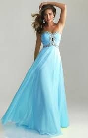 Image result for prom dresses blue