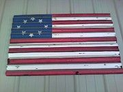 made several of these years ago for FFA fundraiser, (there is one huge one still hangin' on someone's barn....woo-hoo!, the paint held up!)