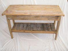 Upcycled Barn wood table