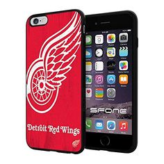 "Detroit Red Wings NHL, #1479 iPhone 6 Plus (5.5"") I6+ Case Protection Scratch Proof Soft Case Cover Protector SURIYAN http://www.amazon.com/dp/B00X67AQRG/ref=cm_sw_r_pi_dp_ztIwvb0XKDAV2"
