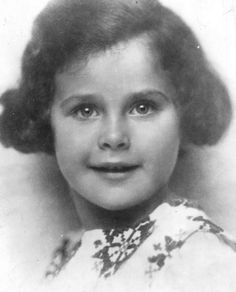 7 year old Hedy Lamarr in Vienna