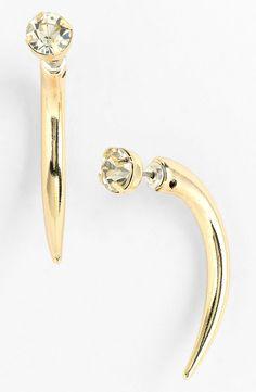 Robert Rose 'Crystal Claw' Earrings | Nordstrom