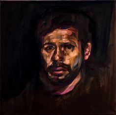 Extracomunitario 50x50 cm / Oil on canvas