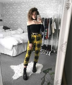 Grunge Outfits, Edgy Outfits, Mode Outfits, Fashion Outfits, Womens Fashion, Fashion Ideas, Hipster Outfits, Fashion Over 40, Look Fashion