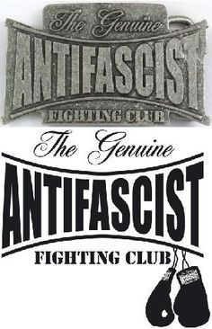 Hebilla para cinturón - The Genuine Antifascist Fighting Club. 10,90 euros. /////////////////////////////////////////////////////////// Belt Buckle - The Genuine Antifascist Fighting Club. Price: 10,90 euros. We serve orders to all countries. Info: distri@barrio-obrero.com WWW.BARRIO-OBRERO.COM