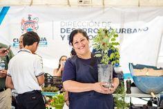 <p>* Se repartieron huertos de 10 semillas diferentes.</p>  <p>Chihuahua, Chih.- En el marco de la Feria de Reciclaje realizada por el Gobierno