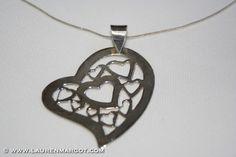 Sterling Silver Heart Pendant.