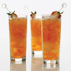 Aged rum, strawberries, mint, lemon juice, sugarcane syrup // More Cocktails for Grilling: http://www.foodandwine.com/slideshows/cocktails-for-grilling #foodandwine