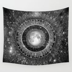 Buy Major Tom (floating in my tin can, far above the Moon) Wall Tapestry by brenda erickson. Worldwide shipping available at Society6.com. Just one of millions of high quality products available.