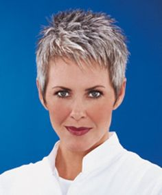 Today we have the most stylish 86 Cute Short Pixie Haircuts. We claim that you have never seen such elegant and eye-catching short hairstyles before. Pixie haircut, of course, offers a lot of options for the hair of the ladies'… Continue Reading → Short Grey Hair, Very Short Hair, Short Hair Cuts For Women, Short Spiky Hairstyles, Short Pixie Haircuts, Gray Hairstyles, Hair And Nail Salon, Great Hair, Hair Today