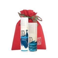 Hipoalergiczna #formuła do pielęgnacji suchej lub wrażliwej skóry: #hipoalergiczny #naturalny #balsam do ciała (wygładza i świetnie nawilża skórę) oraz  hipoalergiczny balsam do dłoni (idealny kosmetyk naturalny dla zmęczonych i suchych dłoni). #Kosmetyki w stylowym worku, na #prezent.