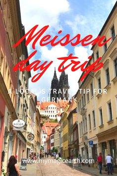 Meissen is a picturesque town including the impressive castle. It is famous for the manufacture of porcelain and surrounded by vineyards of the Elbe valley. Check out this Porcelain City Walking Tour. #meissen #meißen #meissenoldcity #altestadt #germany #dresden #porcelain #europe #elbe #traveltips #travelblogger #destination #daytrips #weekendtrip #德国 #Deutschland #roadtrip #thingstodo #familywithkids #familytravel European Travel Tips, Europe Travel Guide, Travel Guides, Germany Destinations, Travel Destinations, Germany Travel, Visit Germany, Travel Usa, Globe Travel