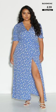 """❤️Come Find Your Dream Dress   🛒 Get 10% off all orders over £59 Use coupon code """"BLOOM10"""" #dress #date #vacation #summer #holiday Curvy Outfits, Plus Size Outfits, Fashion Outfits, Floral Maxi Dress, Dress Up, Trendy Dresses, Summer Dresses, Summer Outfits, Plus Size Womens Clothing"""