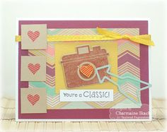 October SOTM You're a Classic Card by Charmaine Ikach #Cardmaking, #Stampofthemonth, http://tayloredexpressions.com/kits.html