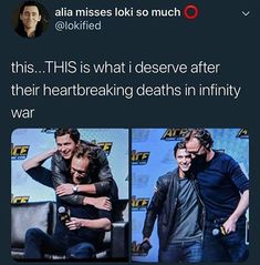 Yes this is wat I deserve marvel after what u have done to me after infinity war😢♥️ Marvel Jokes, Avengers Memes, Marvel Funny, Marvel Dc Comics, Marvel Avengers, Tom Hiddleston Loki, Dc Memes, Marvel Actors, Tom Holland
