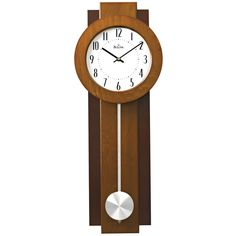 Pre-Owned Bulova C3383 AVENT Pendulum Wall Clock #Doesnotapply