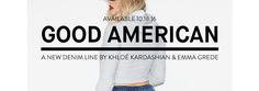 Good American is Khloe Kardashian's new line of jeans for women which she announced last Thursday on her Instagram feed. Here's what we know so far!