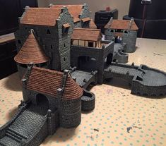New Project finally painted - Large castle