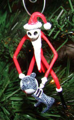 Nightmare Before Christmas Jack Skellington Tree Ornament
