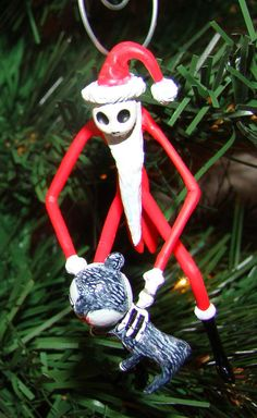 Nightmare Before Christmas Jack Skellington Tree Ornament