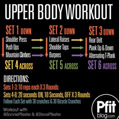 Upper Body Workout- Holy moly this was awesome