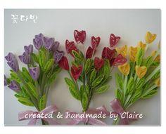 종이감기 꽃다발 : 네이버 블로그