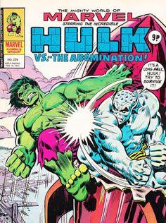 Mighty World of Marvel #229, Hulk vs Abomination