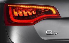 Audi Q7 tail light