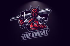 Knight Esport Logo by Suhandi on Envato Elements Team Logo Design, Logo Desing, Modern Logo Design, Warrior Logo, Channel Logo, Knight Logo, Esports Logo, E Sport, Photo Logo