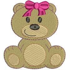 Resultado de imagem para matrizes de bordados ursinhas grandes e poucos pontos